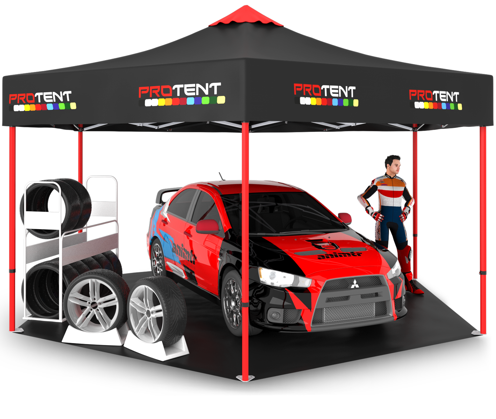 Araç Çadırı - Gölge Çadırı
